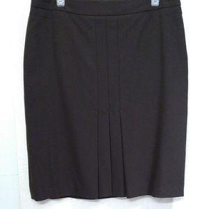 Ann Taylor, Loft, Size 12 brown pleated skirt.